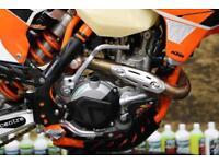 2016 KTM EXCF 450 ENDURO BIKE ROAD REG, ELECTRIC START