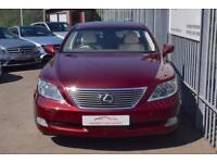 2007 Lexus LS 460 Saloon 4.6V8 375 SE-L Auto8 Petrol red Automatic