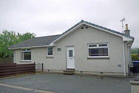 Detached 3 Bedroom bungalow For Sale, Fyvie, Aberdeenshire