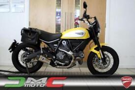 2015 Ducati Scrambler Icon Yellow 3,599 Miles Termi Exhaust 1 Owner | £99 pcm