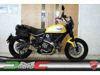 2015 Ducati Scrambler Icon Yellow 3,599 Miles Termi Exhaust 1 Owner | £99 pcm