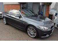 BMW 435d XDRIVE M SPORT-PRO SAT NAV-RED LEATHER