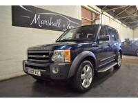 2007 07 LAND ROVER DISCOVERY 3 2.7 3 TDV6 HSE 5D AUTO 188 BHP 7 SEATS DIESEL