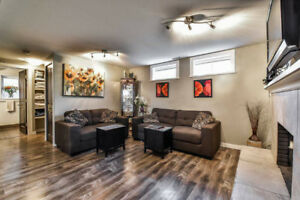 Walk-out basement suite in Capitol Hill - unfurnished