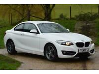 2015 BMW 2 Series Sport Coupe Diesel Manual