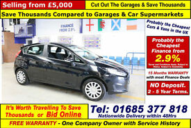 2013 - 13 - FORD FIESTA STYLE ECONETIC 1.5TDCI 5 DOOR HATCHBACK (GUIDE PRICE)