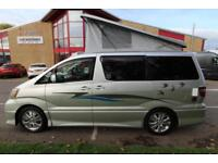 Toyota Alphard 2 Berth Campervan for sale