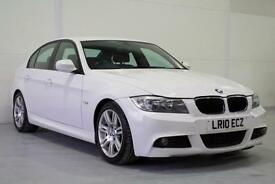2010 BMW 320D M Sport IN WHITE