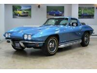 1965 Chevrolet Corvette Stingray C2 327 V8 Manual Nassau Blue - Restored