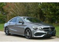 2017 Mercedes-Benz CLA200 CDI AMG LINE Auto Saloon Diesel Automatic