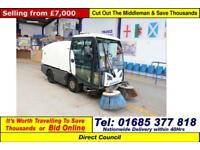 2013 - 13 - JOHNSTON 2000 CX2013.0 AUTO 4 TON SWEEPER (GUIDE PRICE)