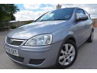 VAUXHALL CORSA BREEZE 1.2 16V 3 DOOR*LOW MILEAGE*12 MONTHS MOT*SERVICE HISTORY*