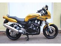 Yamaha FZS600 FAZER - 1999 / T Reg - ***ONLY 12,500 Mls *** in Stunning Gold !