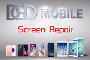 Replacement Repair screen lécran iphone samsung ipad tablets
