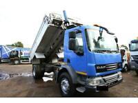 2012 DAF LF55.250 4X2 TIPPER TRUCK TARMAC VOLVO SCANIA