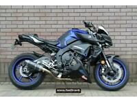 YAMAHA MT-10 2016 66 - BLUE - NATIONWIDE DELIVERY - VIDEO TOUR AVAILABLE
