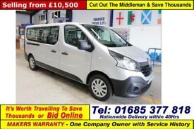 2015 - 65 - RENAULT TRAFIC BUSINESS ENERGY 1.6DCI LWB 9 SEAT SHUTTLE MINIBUS