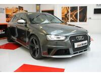 2014 Audi RS4 Avant 4.2 TFSI 450ps S Tronic quattro in Daytona Grey with Panroof