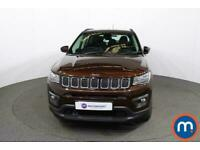 2018 Jeep Compass 1.6 Multijet 120 Longitude 5dr [2WD] CrossOver Diesel Manual