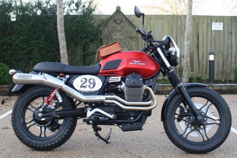 Moto Guzzi V7 Ii Stone Euro 3 Fully Loaded Moto Corsa