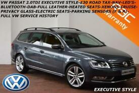 2014 Volkswagen Passat 2.0TDI 140bhp BlueMotion Tech Executive Style-
