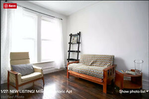 MILE END BEAUTIFUL HISTORIC APT ALL INC