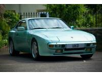 PORSCHE 944 LUX 2.5 CRYSTAL BLUE 1985 COUPE