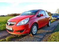 2010 Vauxhall/Opel Corsa 1.0i 12v 65ps ecoFLEX S £89 A Month £0 Deposit