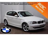 2011 BMW 116D 2.0TD SE-FULL SERVICE HISTORY-£30 TAX-REAR PARKING SENSORS-