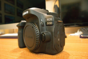 Canon EOS 80D with extras    REDUCED!!!!