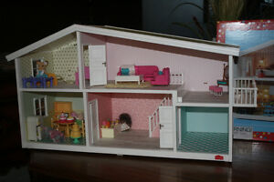 Smaland Doll House and doll furniture