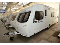 2013 Lunar Cosmos 544 4 Berth Touring Caravan with Fixed Bed