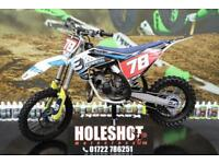 2018 HUSQVARNA TC 85 MOTOCROSS BIKE SMALL WHEEL, TALON HUBS, NEW GRIPS