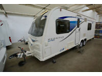 Bailey Pgasus Bologna GT65 4 Berth Touring Caravan with Fixed Bed