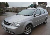 CHEVROLET LACETTI SX AUTOMATIC 1.8 ESTATE*FULL 12 MONTHS MOT*NO ADVISORIES*