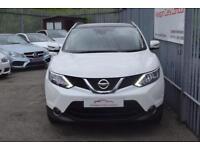 2014 Nissan Qashqai SUV 2wd 1.5dCi 110 SS Tekna 6 Diesel white Manual
