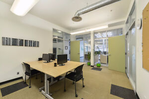 Bright Modern Colaborative Office Space