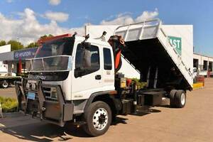 ISUZU FTR 900 ** TIPPER ** CRANE TRUCK ** #4862 Archerfield Brisbane South West Preview