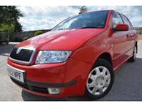 SKODA FABIA COMFORT 1.4 AUTOMATIC 5 DOOR*LOW MILEAGE*1 LADY OWNER*FSH*FULL MOT*