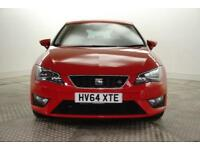 2015 SEAT Leon TDI FR TECHNOLOGY Diesel red Manual
