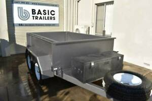 8x5 Hydraulic Tipping Trailer High Sides 3500kg ATM Pooraka Salisbury Area Preview
