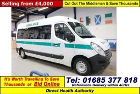 2010 - 60 - RENAULT MASTER LM35 2.5DCI 100PS 7 SEAT DISABLED ACCESS PTS MINIBUS