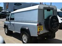 2013 Land Rover Defender 110 2.2 D DPF Hard Top 3dr Diesel silver Manual