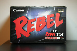 LNIB Canon EOS Rebel T5i with 18-55mm IS STM lens!