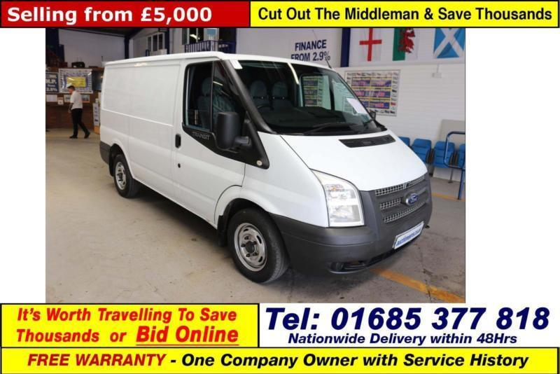 8304219961 2012 - 62 - FORD TRANSIT T280 2.2TDCI 100PS FWD SWB LOW ROOF VAN (GUIDE  PRICE)