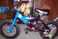 """Spiderman bike 14"""" Wheels"""