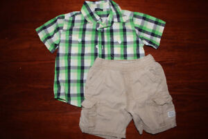 24 months summer outfit $3