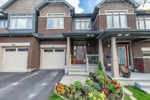 EXCLUSIVE! Immaculate 3 Bed, 3 Bath Claridge Townhome in Orleans