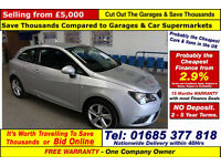 2013 - 63 - SEAT IBIZA TOCA 1.4 PETROL 3 DOOR HATCHBACK (GUIDE PRICE)