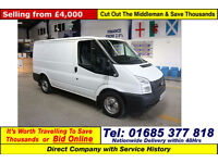 2012 - 62 - FORD TRANSIT T280 2.2TDCI 100PS FWD SWB VAN (GUIDE PRICE)